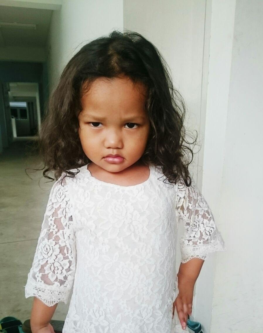 young malay girl