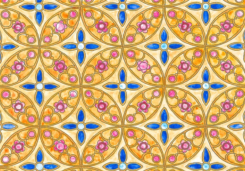 batik colouring
