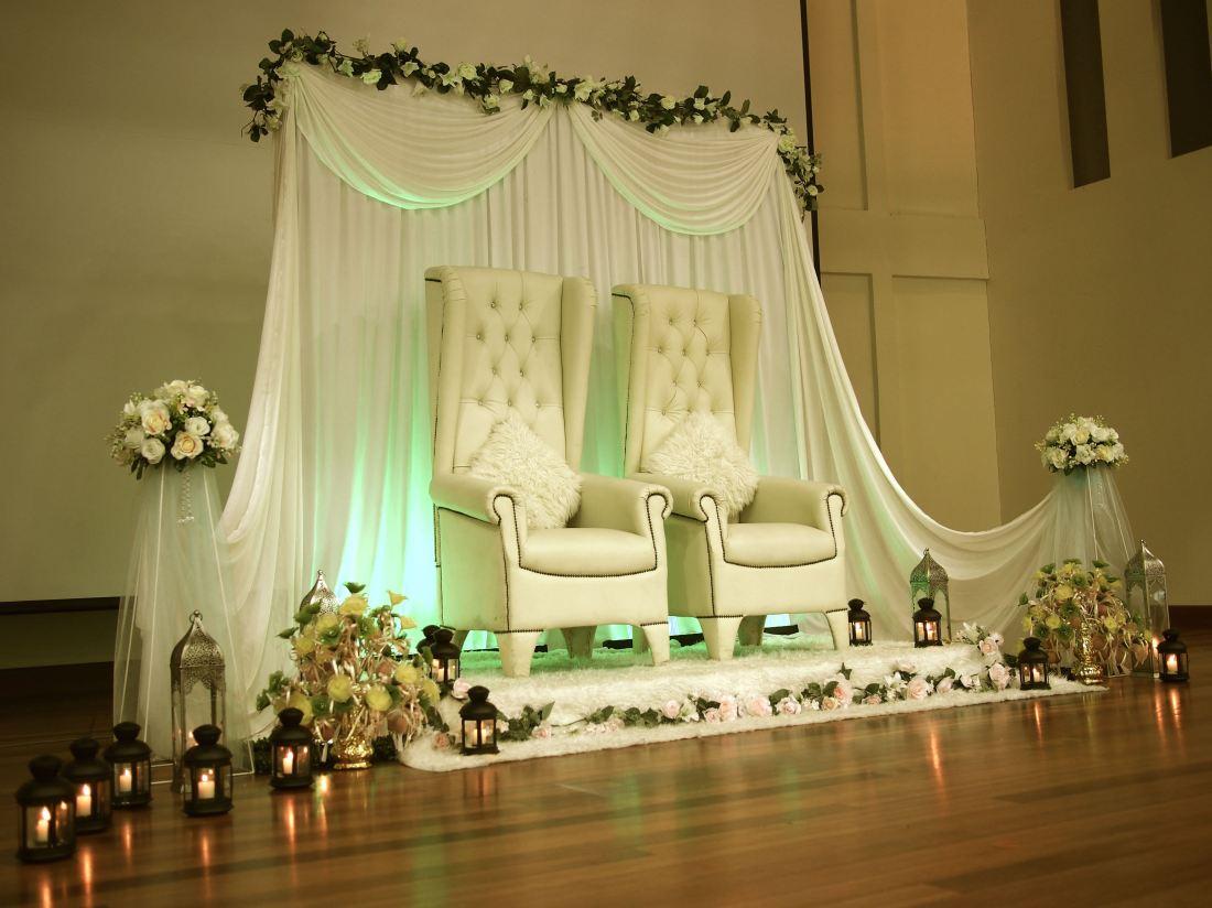 malay wedding dais