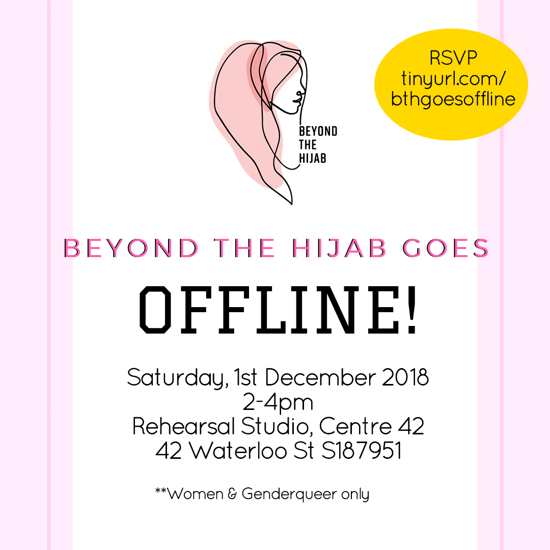 beyond the hijab goes offline